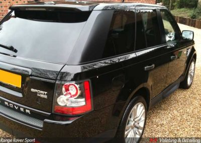 Range Rover Sport Valet and Paint Protection